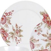 Royal Worchester Red Rose Dinner Plate