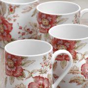 Royal Worchester Red Rose Mug